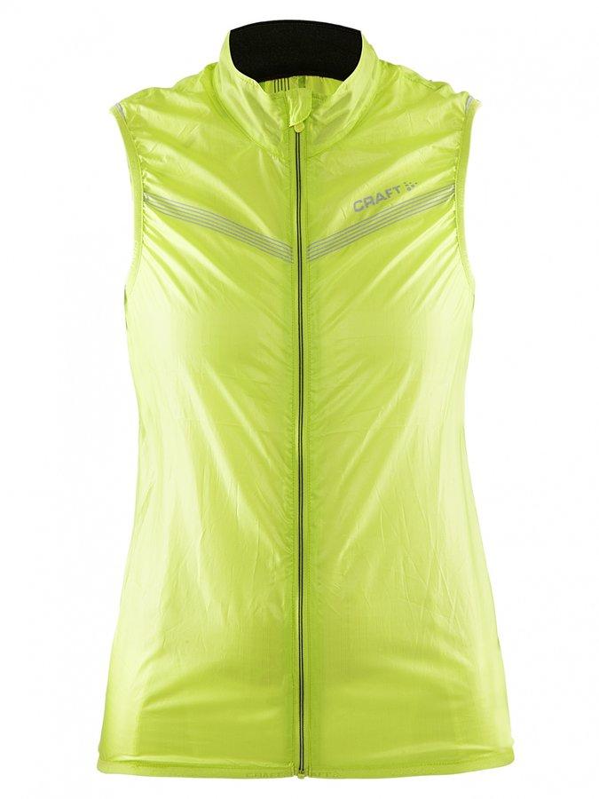 Žlutá dámská jezdecká vesta Featherlight, Craft