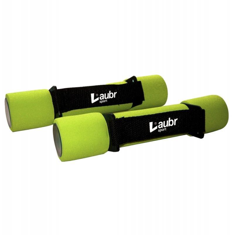 Činky na aerobik - Činky na aerobic Laubr 2x1kg