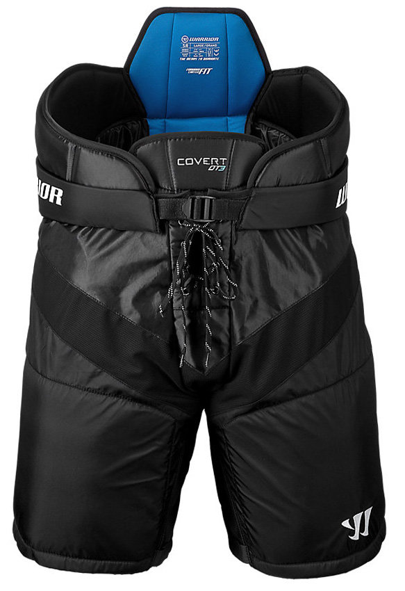 Černé hokejové kalhoty (junior) WARRIOR - velikost L