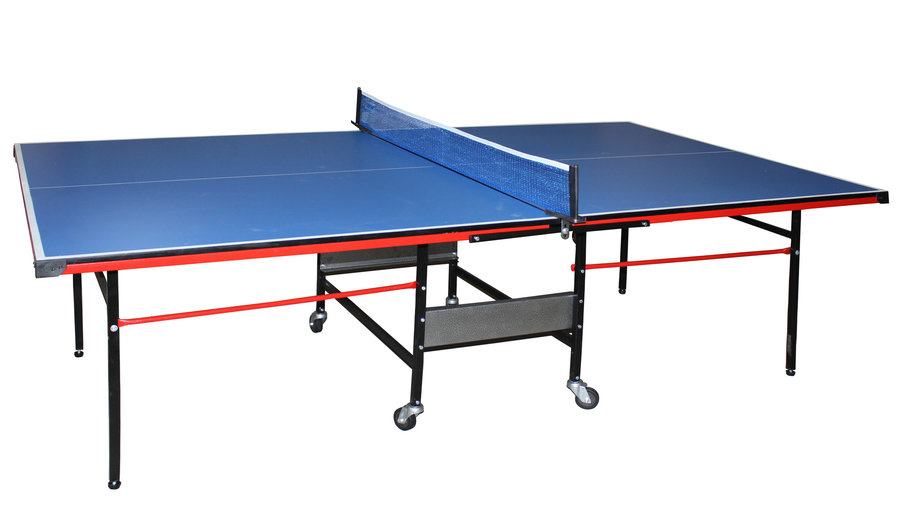 Modrý vnitřní stůl na stolní tenis Super Max, Merco