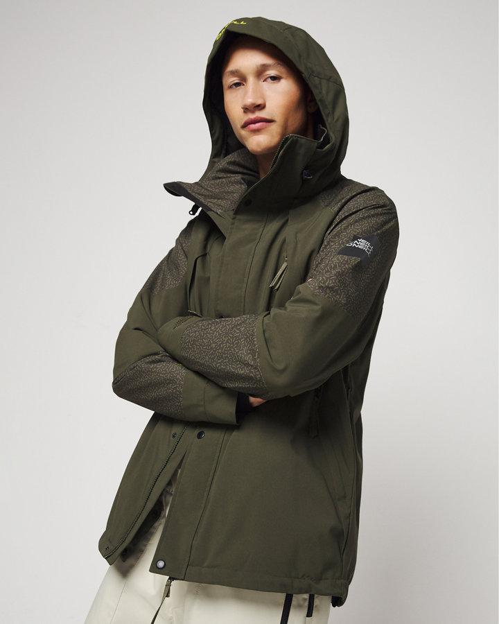 Zelená zimní pánská bunda O'Neill