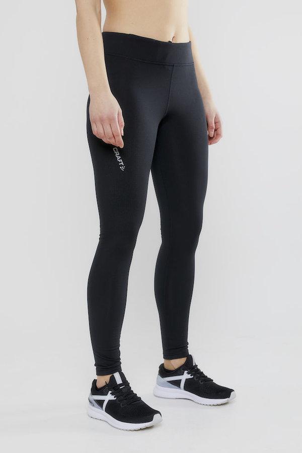 Černé dlouhé dámské cyklistické kalhoty Craft - velikost S