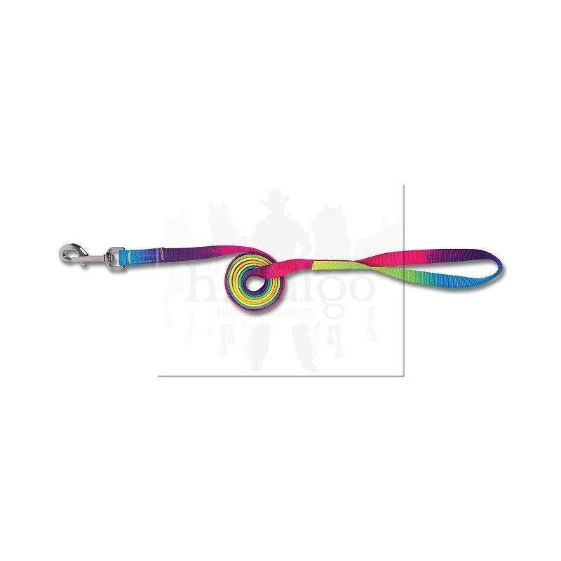 Různobarevné vodítko Rainbow, Waldhausen - délka 180 cm
