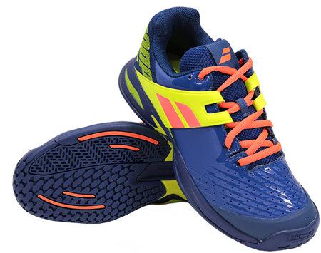Modro-žlutá pánská tenisová obuv Propulse, Babolat