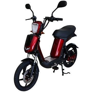 Červený elektromotocykl E-Babeta, Racceway