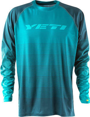 Modrý cyklistický dres YETI - velikost M