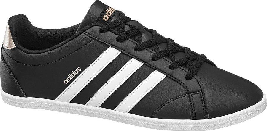 Černé dámské tenisky Adidas - velikost 38 2/3 EU