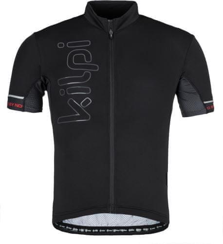 Černý pánský cyklistický dres Kilpi