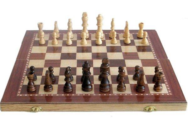 Dřevěné šachy Sedco