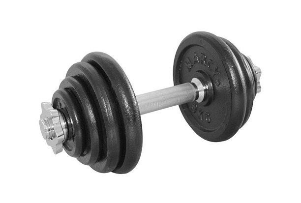 Nakládací činka Tunturi - 15 kg