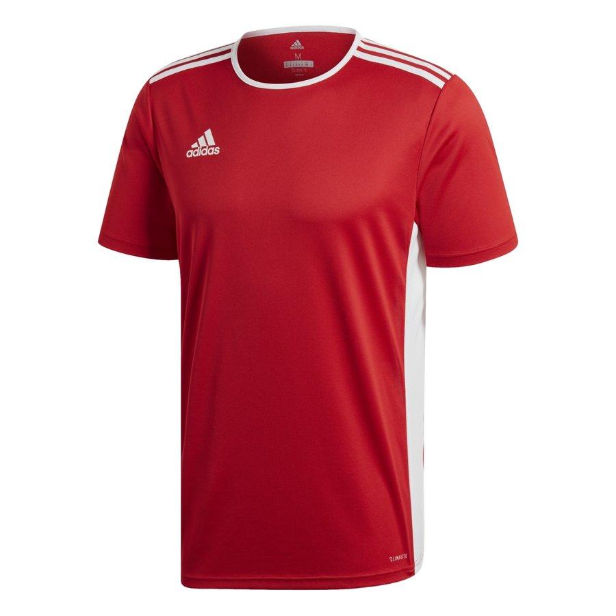 Červený dětský fotbalový dres Entrada 18, Adidas - velikost 116
