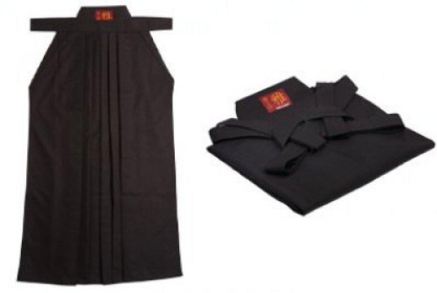 Černá Hakama - velikost 30