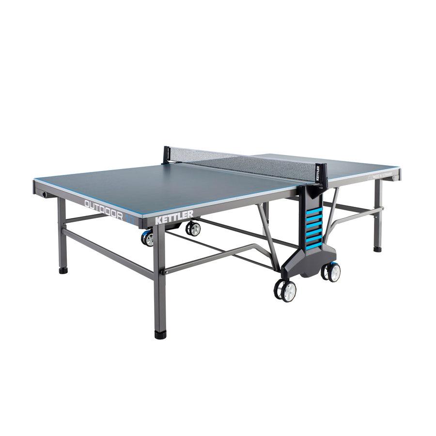 Modro-šedý venkovní stůl na stolní tenis OUTDOOR 10, Kettler