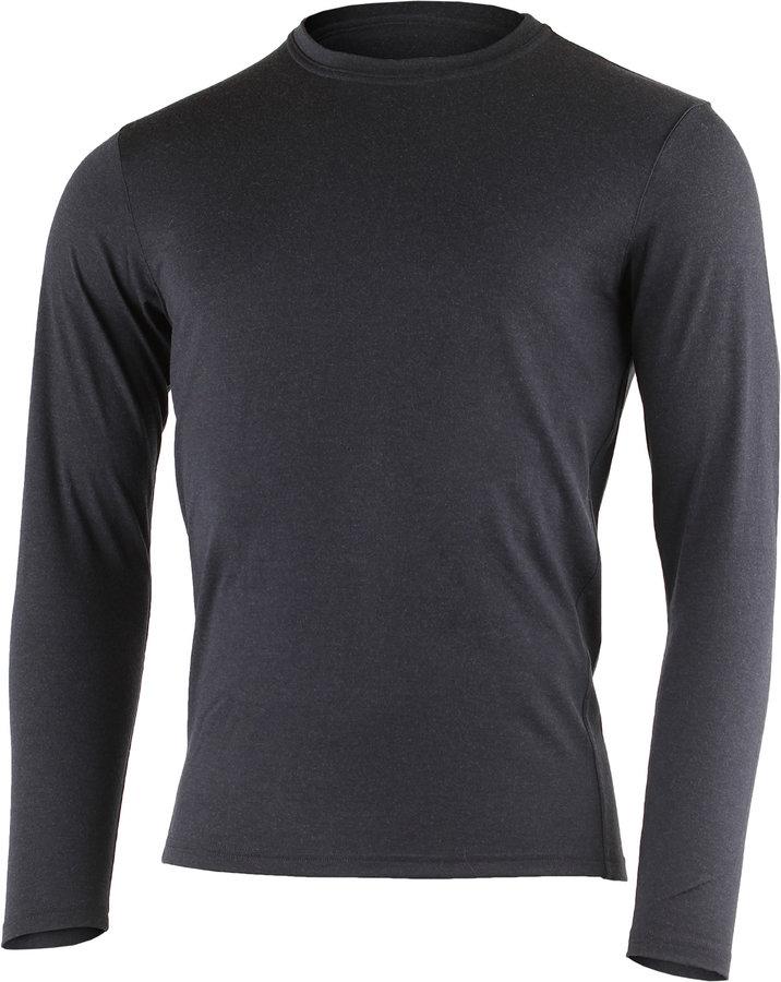 Modré pánské tričko s dlouhým rukávem Lasting - velikost 3XL