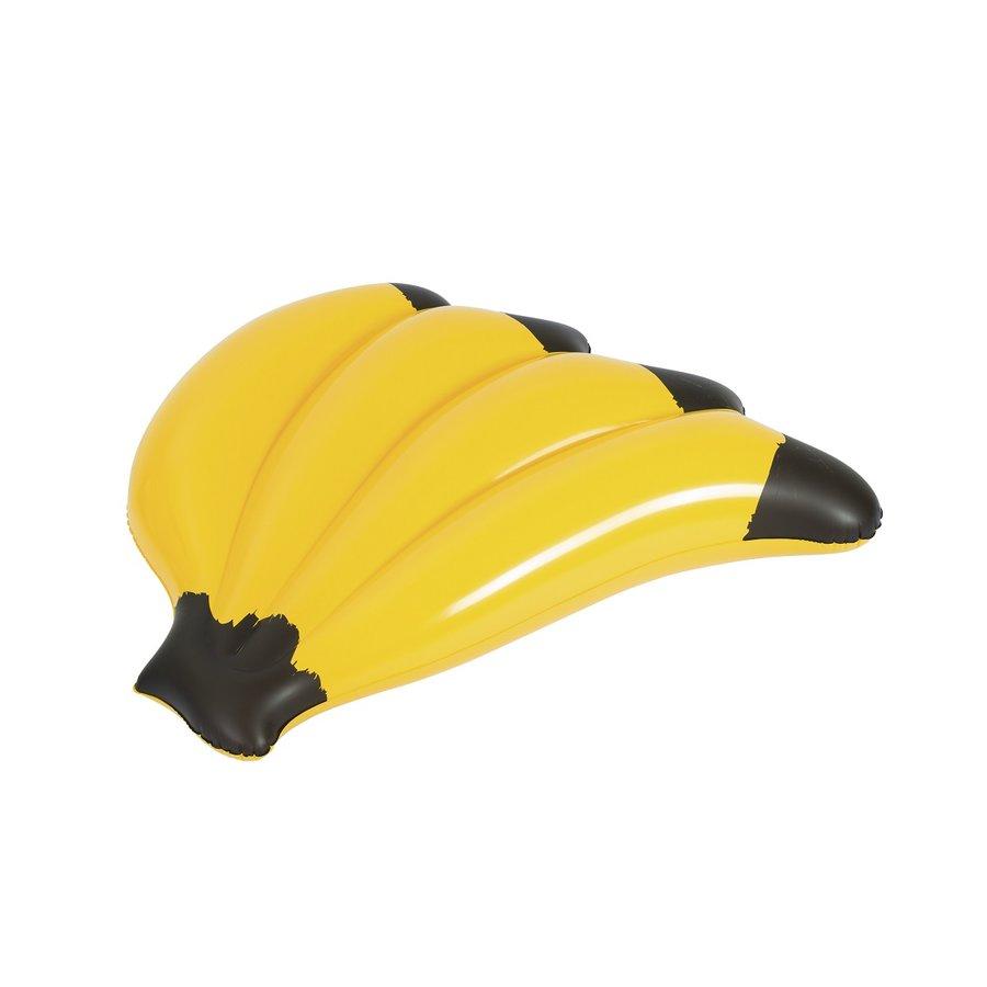 Žluté nafukovací lehátko Banán Bestway - délka 128 cm a šířka 124 cm