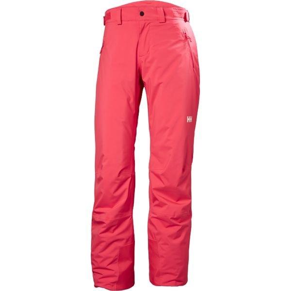 Růžové dámské lyžařské kalhoty Helly Hansen