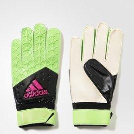 Černo-zelené brankářské fotbalové rukavice ACE TRAINING, Adidas - velikost 10,5