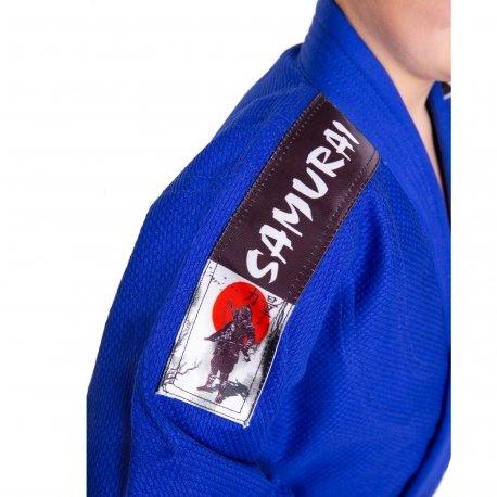 Modré kimono na judo MASUTAZU - velikost 140