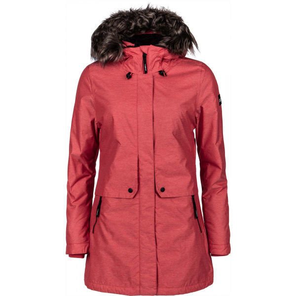 Červená dámská bunda O'Neill - velikost XS