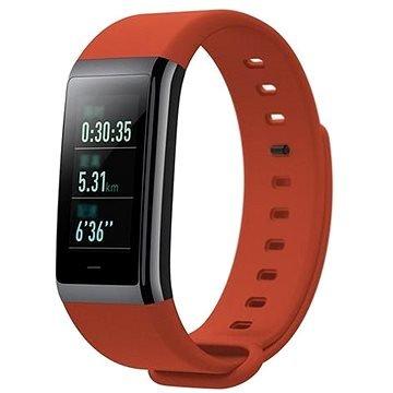 Červený fitness náramek Amazfit Cor, Xiaomi