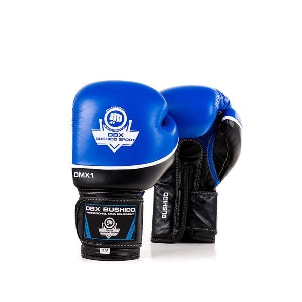Černo-modré boxerské rukavice BUSHIDO