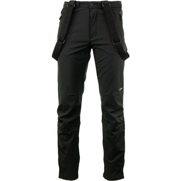 Černé pánské lyžařské kalhoty Alpine Pro - velikost L