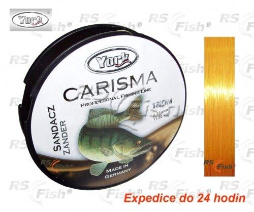 Rybářský vlasec - York® Vlasec York Carisma Candát 0,22 mm