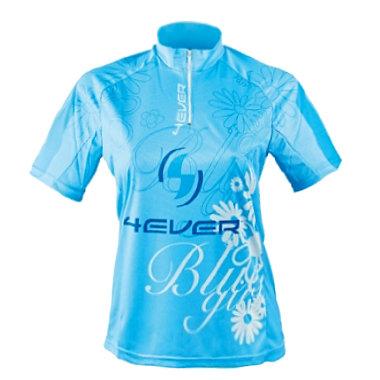 Modrý dámský cyklistický dres 4EVER