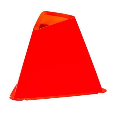 Červený tréninkový kužel Kipsta - 6 ks