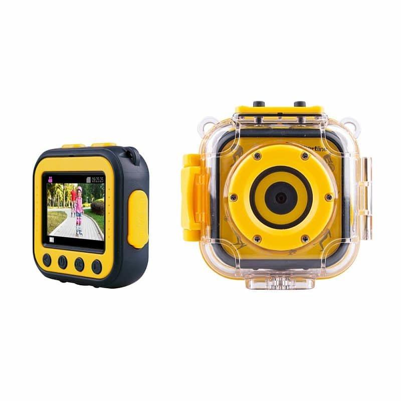 Černo-žlutá outdoorová kamera KidCam, inSPORTline