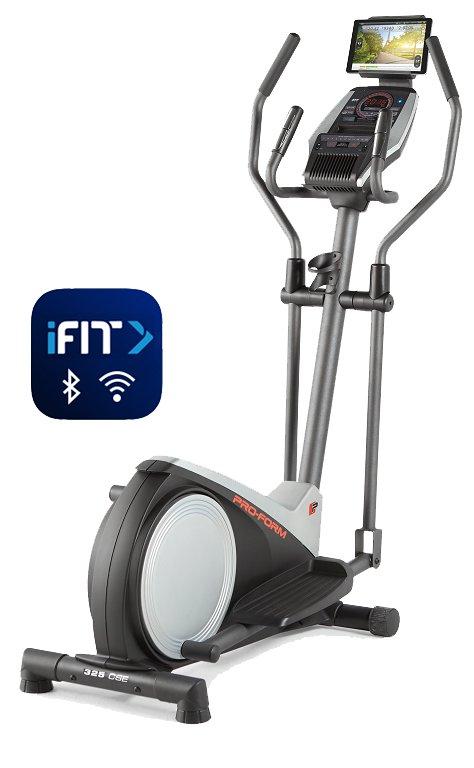 Magnetický eliptický trenažér 325 CSE, ProForm - nosnost 115 kg