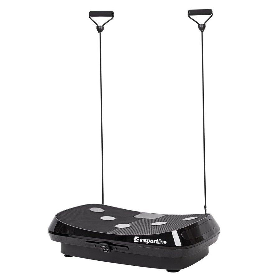 Vibrační plošina s gumovými expandéry Julisa, inSPORTline - nosnost 120 kg