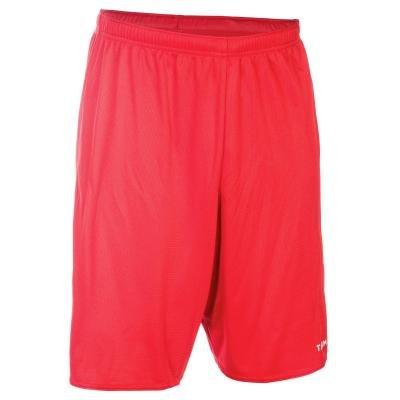 Červené basketbalové kraťasy SH100, Tarmak