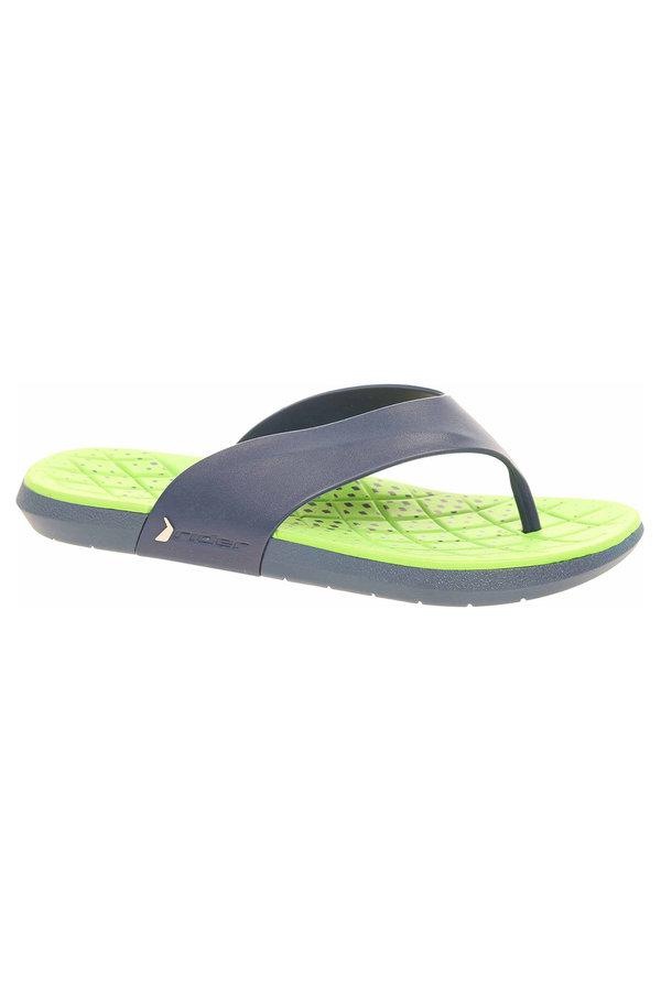 Modré pánské pantofle Rider - velikost 47 EU