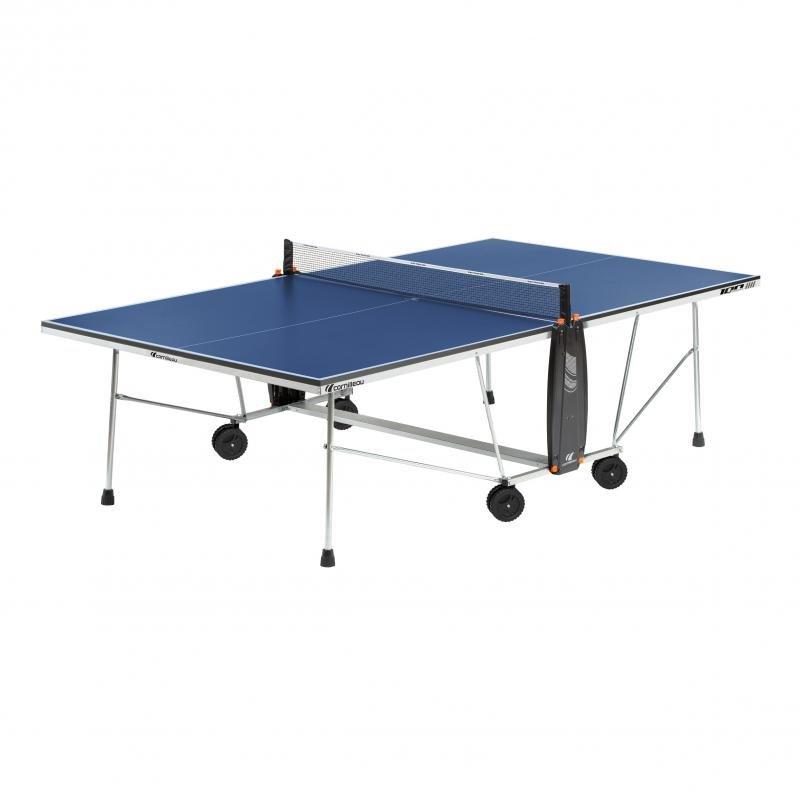 Modrý vnitřní stůl na stolní tenis 100, Cornilleau