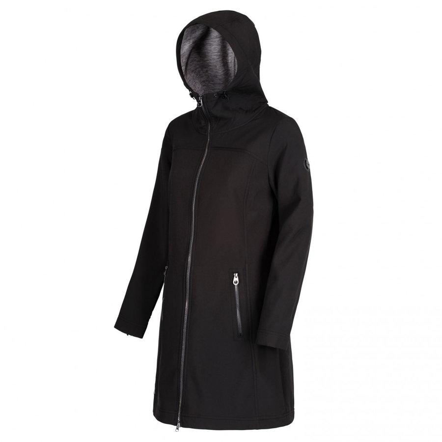 Černý dámský kabát Regatta - velikost M