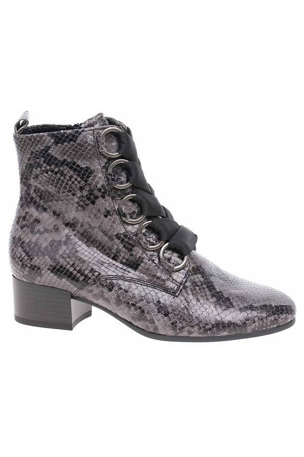 Šedé dámské kotníkové boty Gabor
