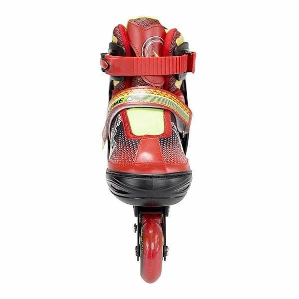 Černo-červené kolečkové brusle Nils Extreme - velikost 30-33 EU