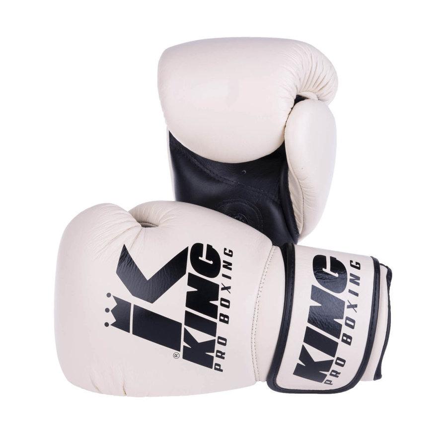 Béžové boxerské rukavice King