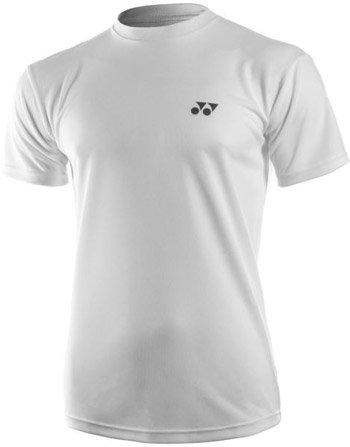 Bílé pánské funkční tričko s krátkým rukávem Yonex