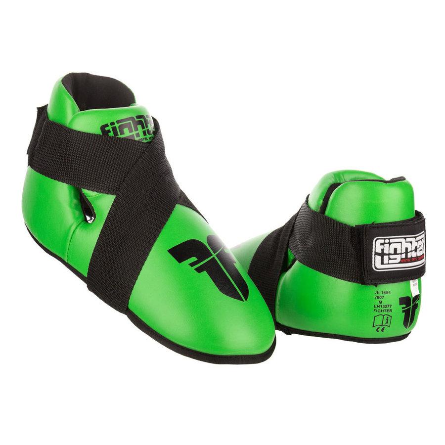 Zelené chrániče na nohy Fighter