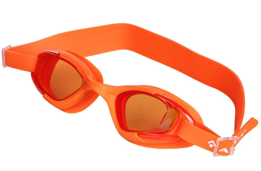 Oranžové dětské chlapecké nebo dívčí plavecké brýle Otava, Artis