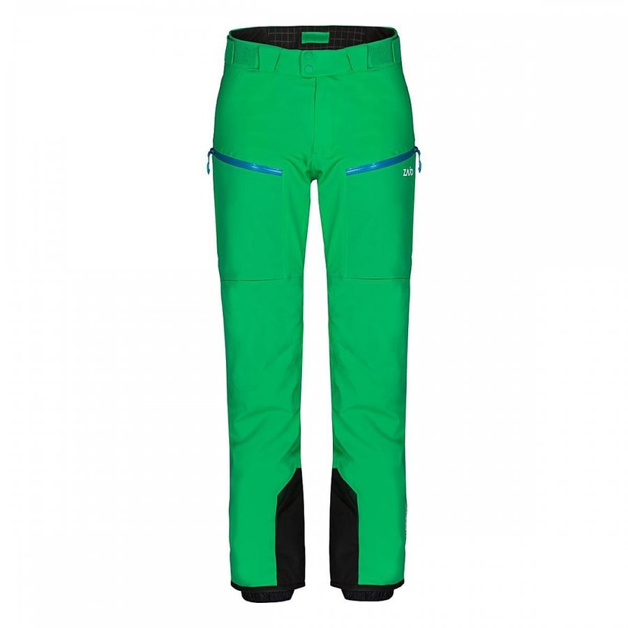 Zelené pánské lyžařské kalhoty Zajo