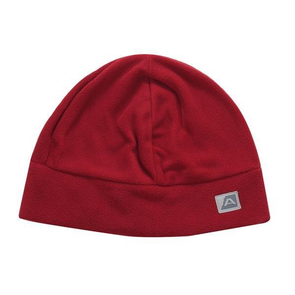 Červená běžecká čepice Alpine Pro - velikost M