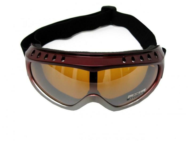 Černé lyžařské brýle Cortini