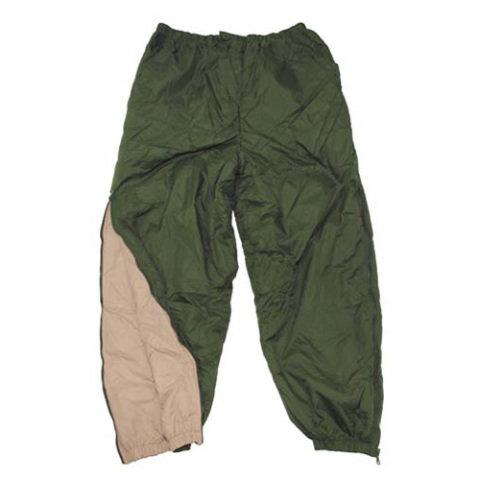 Kalhoty - Kalhoty GRIFFON oboustranné ZELENÉ/PÍSKOVÉ