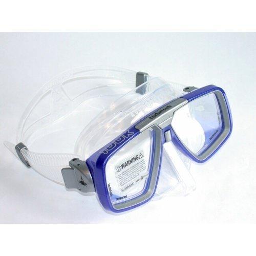 Modrá potápěčská maska Look transparent, TECHNISUB