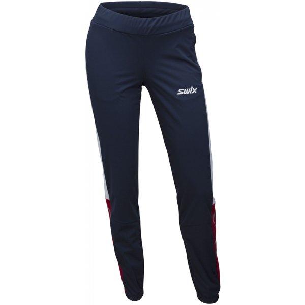 Modré softshellové dámské kalhoty Swix - velikost XL