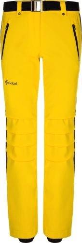 Žluté dámské lyžařské kalhoty Kilpi