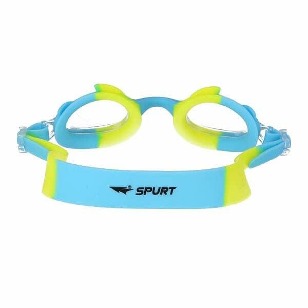 Modré dětské plavecké brýle JR3 AF, SPURT